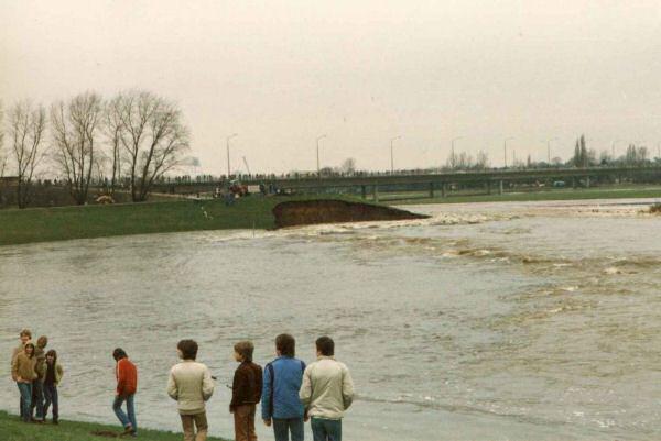 Wasserdurchbruch 1981